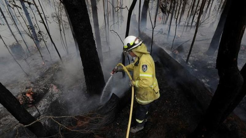 Australia bushfires: Country braces for 'difficult day'