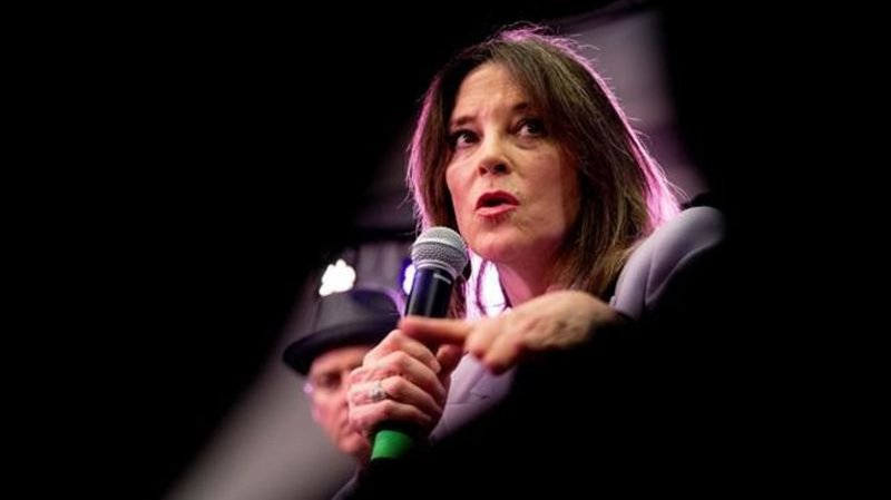 By Canadian Press	 	 		Spiritual guru Marianne Williamson ends 2020 White House bid				Jan 10 2020