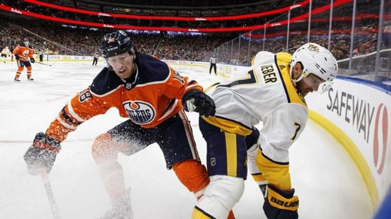 Nashville Predators destroyed by the Edmonton Oilers 8-3