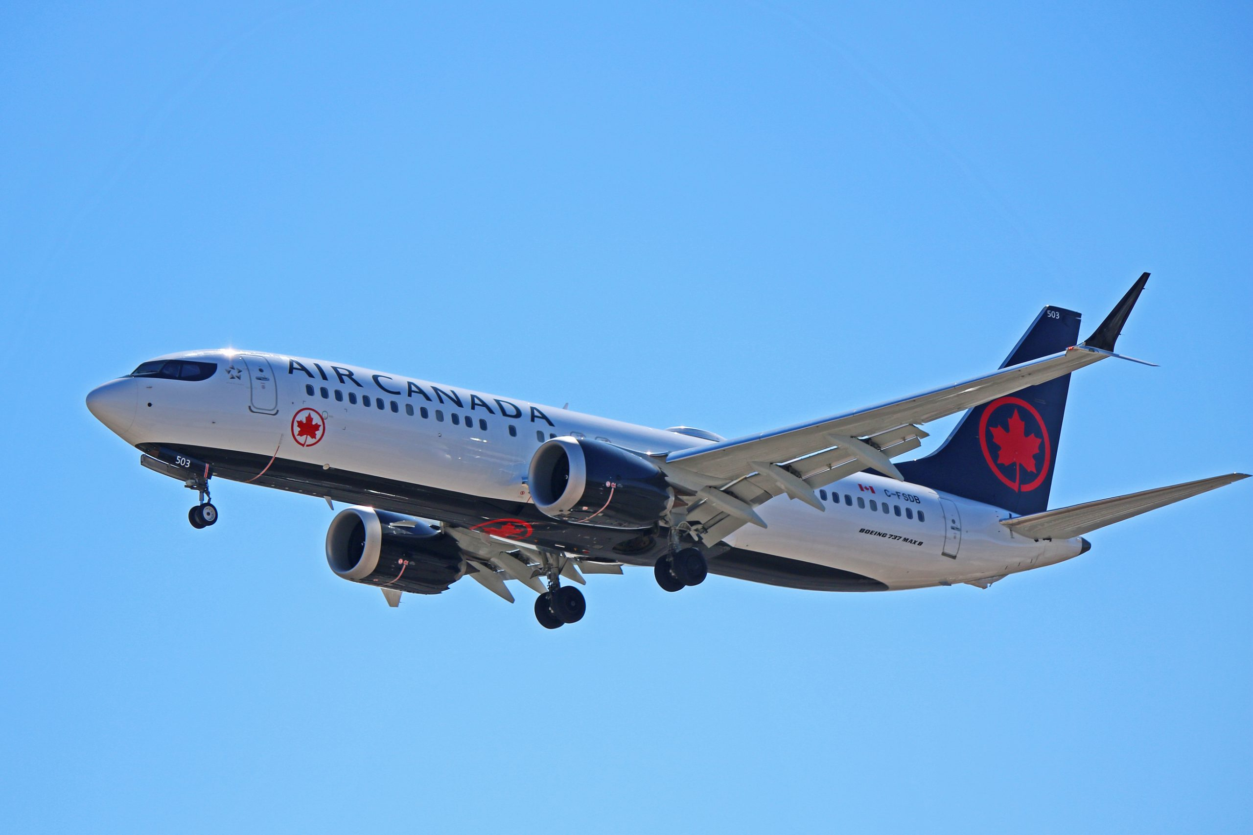 Image result for Boeing 737 MAX air canada
