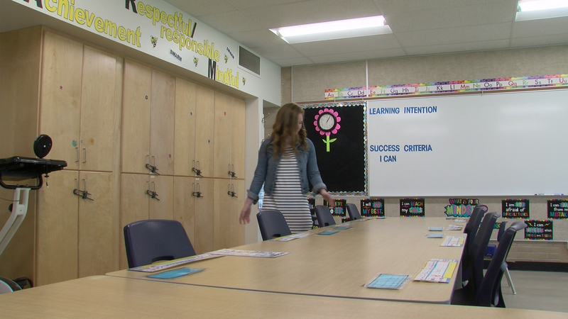 Teachers preparing classrooms for first day of school | CHAT
