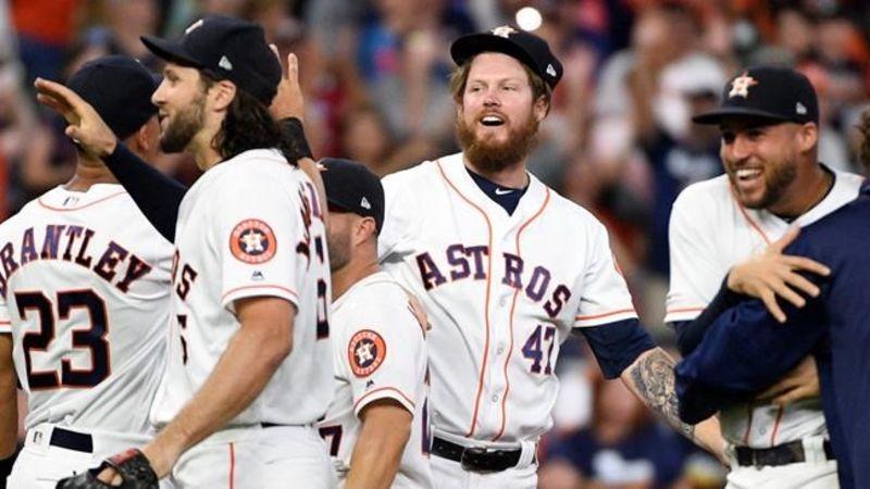 Former Blue Jays Aaron Sanchez, Joe Biagini help Astros no-hit Mariners