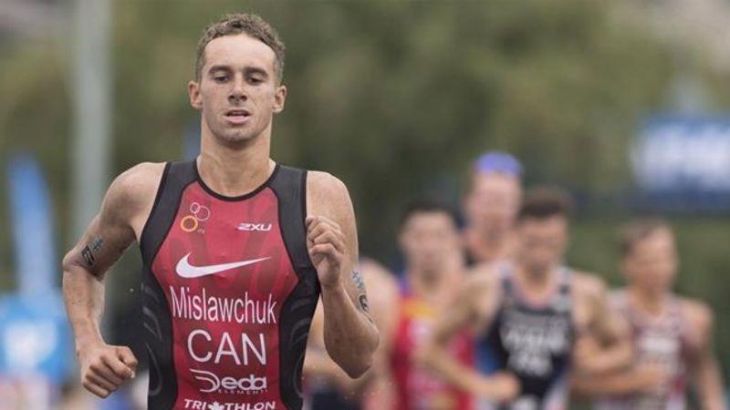 Canadian Tyler Mislawchuk wins World Triathlon Olympic test