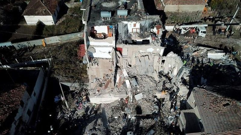 Albania Earthquake Kills 14 Rescuers