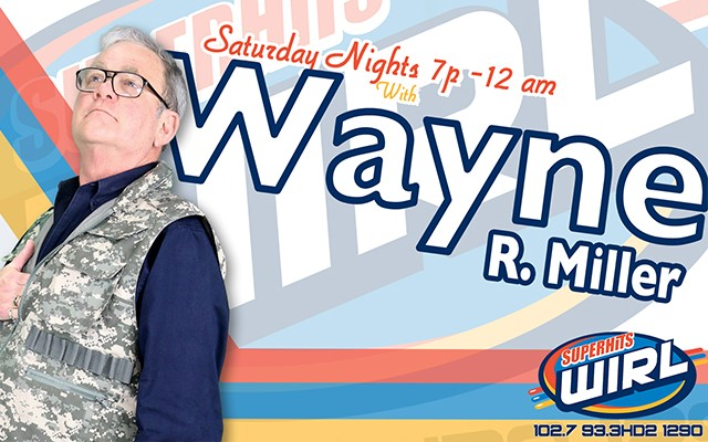 Saturday Night Dance Party with Wayne R  Miller | SuperHits WIRL