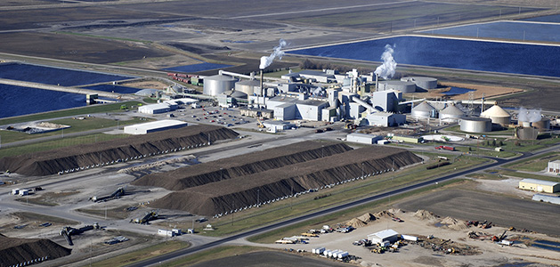 Fire at Minn-Dak Farmers Cooperative sugar beet plant near Wahpeton
