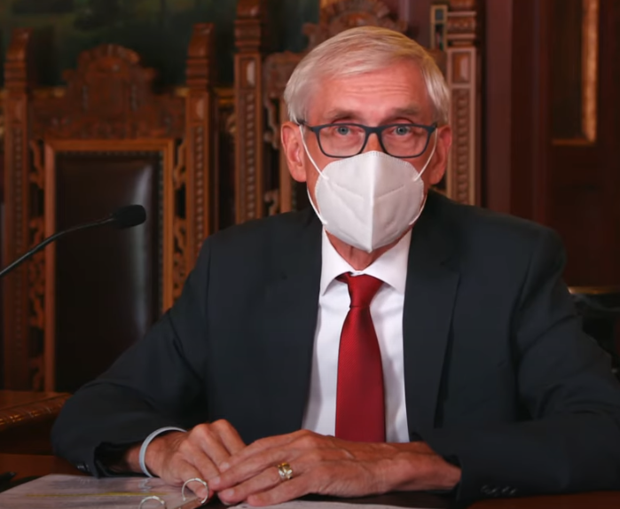 Wisconsin's governor made face coverings mandatory in indoor spaces