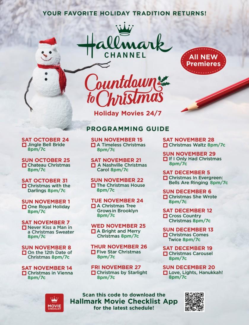 Christmas Programming 2020 Hallmark Reveals Christmas Movie Schedule For 2020 | My Blono