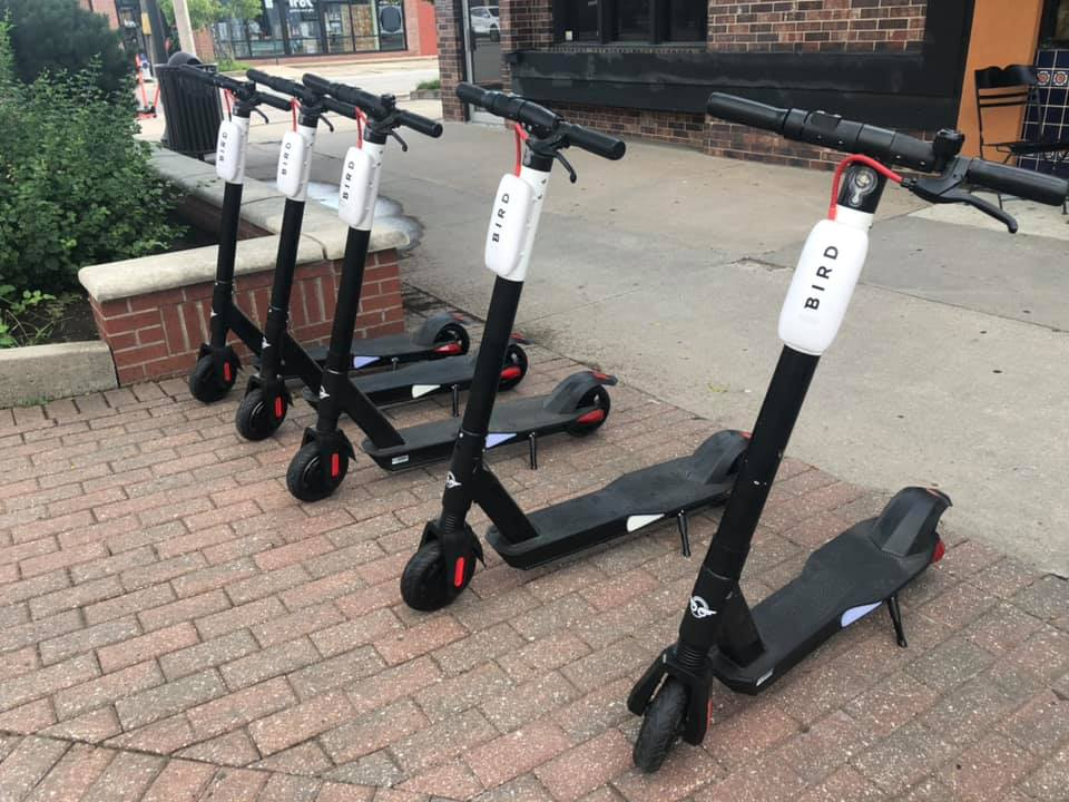 Emporia's electric scooters get heavy use in first week of operation