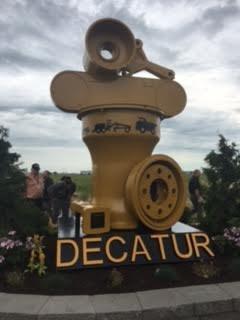 CAT Sculpture Unveiling