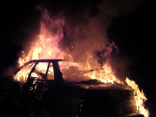 Retired Detective's Truck Set on Fire