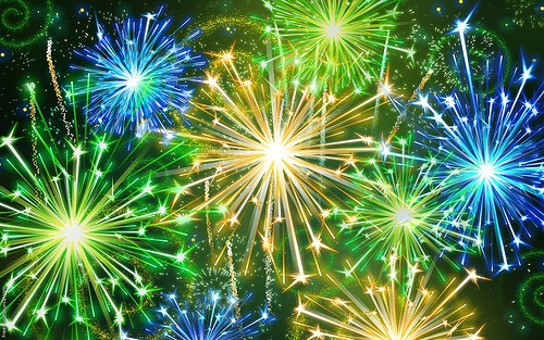 Pana Fireworks Rescheduled for this Saturday Evening