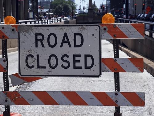 Road Closures Near Twin Forks Wind Farm