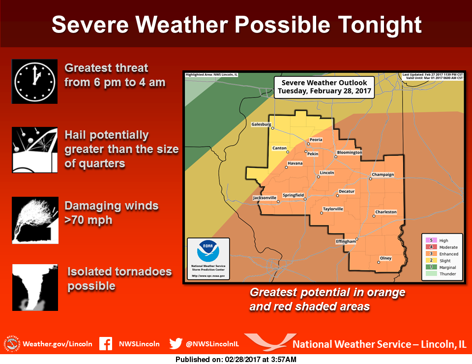 Storms Likely Today, Some Severe
