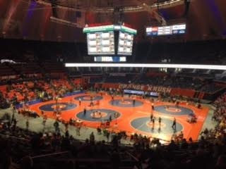 IHSA State Wrestling Day Two Class 1A Morning Session Results