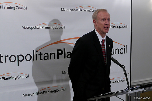 Governor Pushes Proposals During Decatur Visit