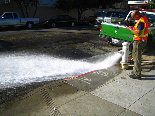 Hydrant Flushing and Flow Testing