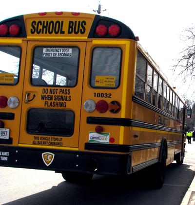 Four Hurt In School Bus Crash In Decatur