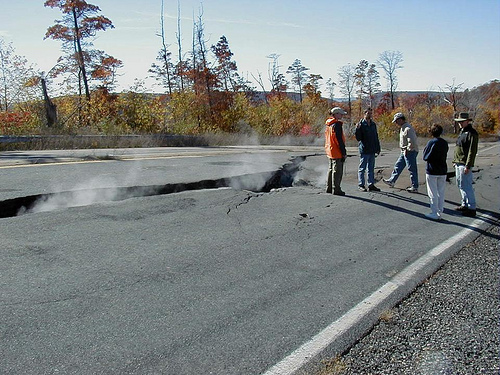 Hot Weather Could Buckle Pavement On Area Roadways