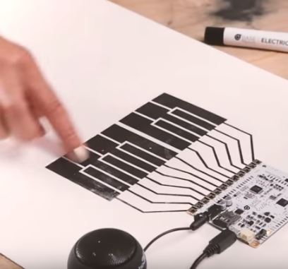 Conductive paint is a thing! Pretty amazing too!