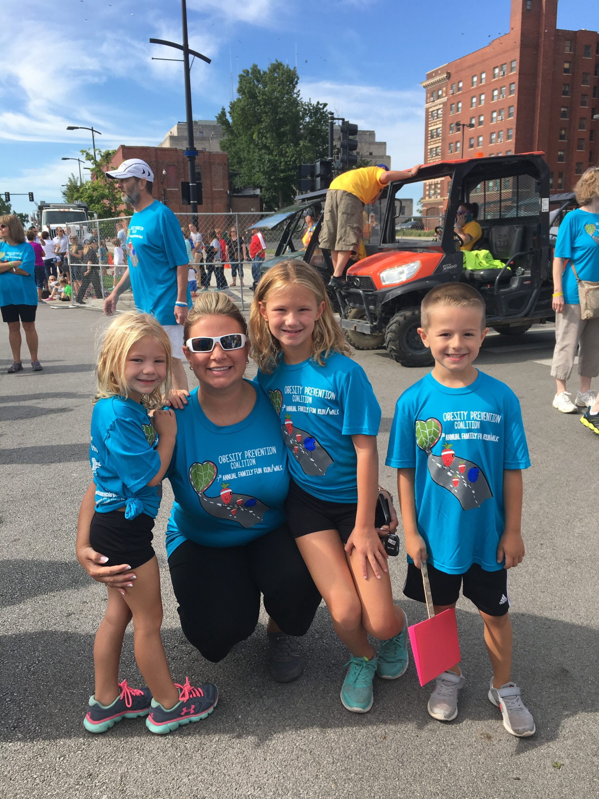 Obesity Prevention Coalition Fun Run Draws Attention to Health of Macon County