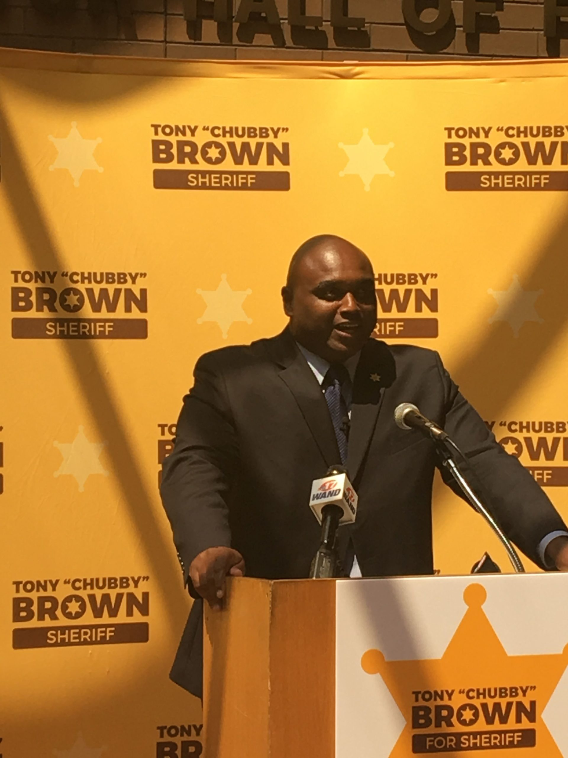 Tony Brown Announces Run for Macon County Sheriff
