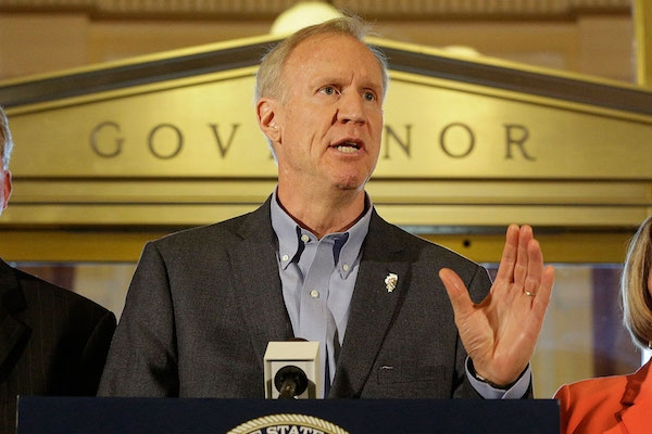 Governor Rauner Calls Democrat Pritzker A 'Tax Cheat'