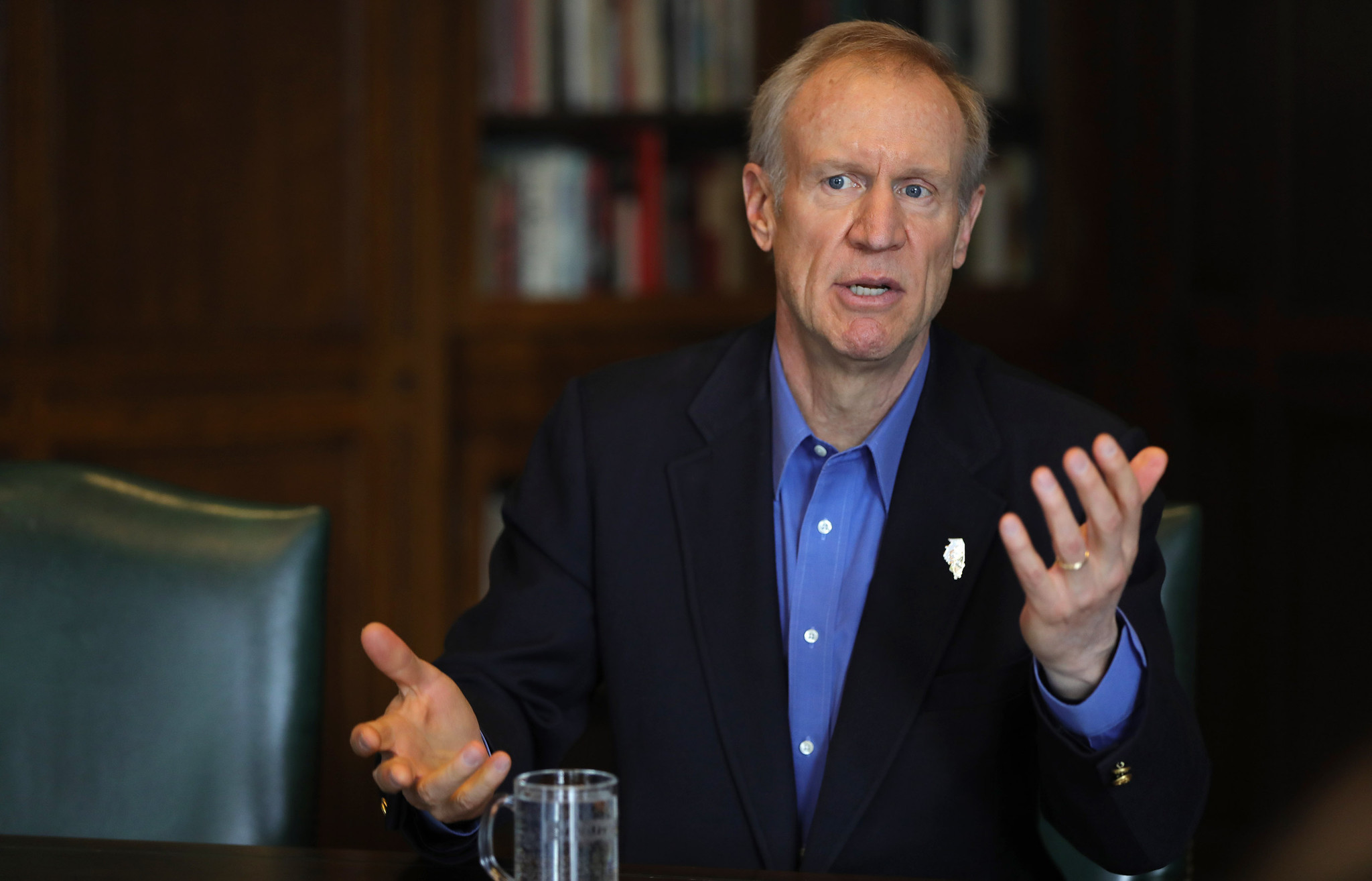 Governor Rauner: I'm Not In Charge Of The State