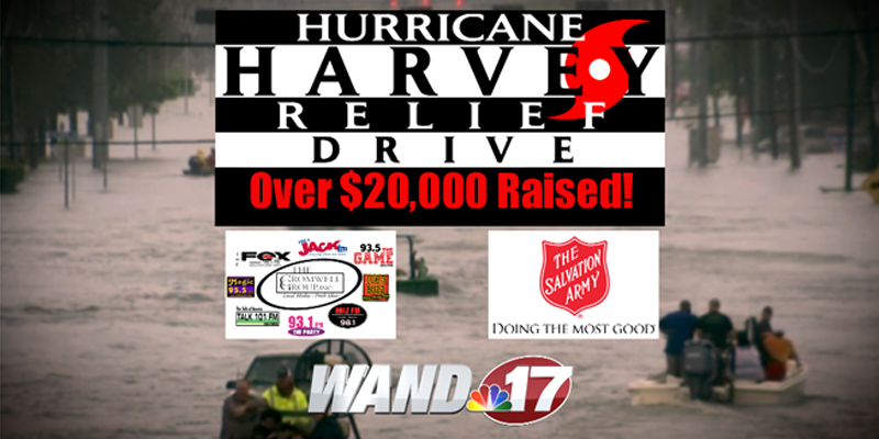 Hurricane Harvey Relief Drive