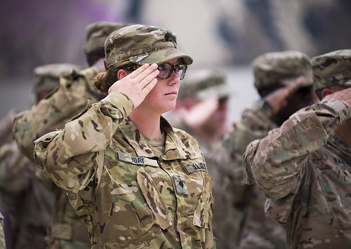 Illinois Guard Sends 135 Troops To Kuwait