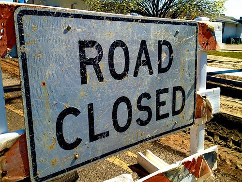 Lane Closure/Fairview Avenue