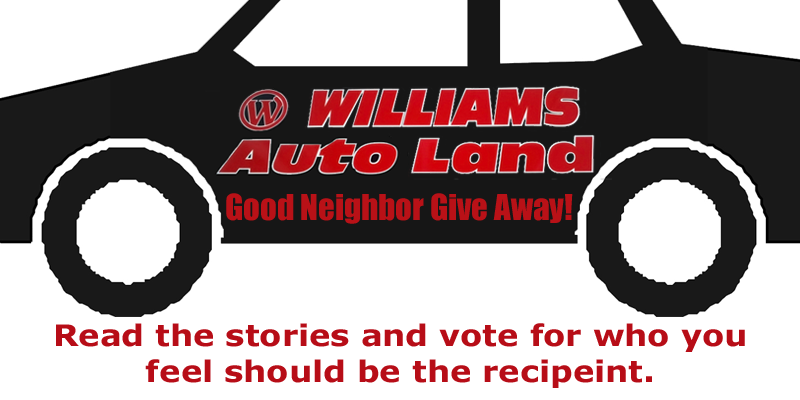 Williams Autoland Good Neighbor Giveaway