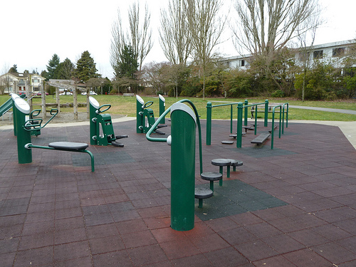 Unveiling of Outdoor Fitness Station at Nelson Park