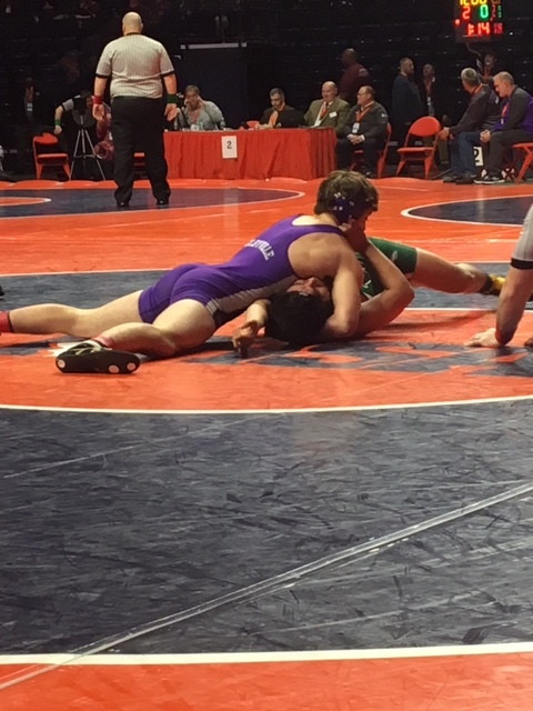 Class 1A Area State Wrestling Recap -- Day Two