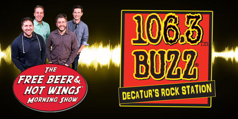 Feature: http://www.decaturradio.com/free-beer-and-hot-wings-moving-to-106-3-the-buzz/