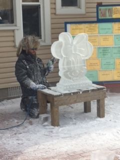 Argenta Icefest Carving Demo