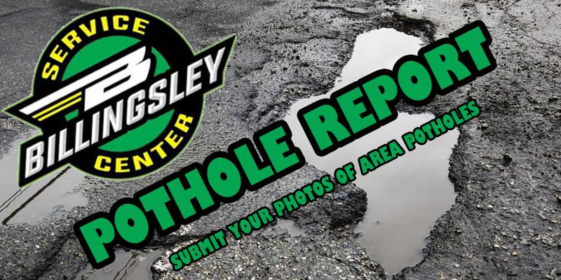 Billingsley Pothole Report