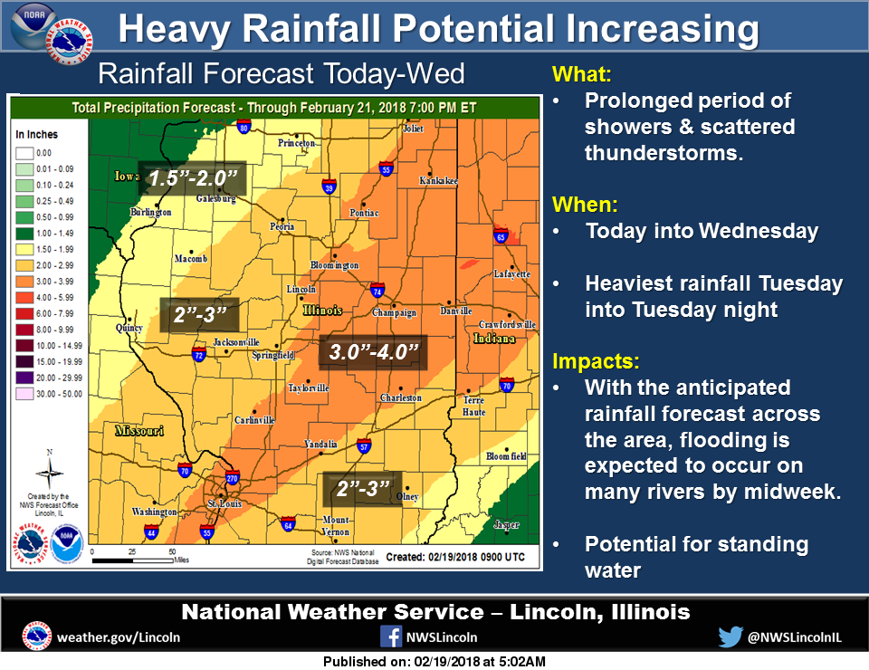 Plenty Of Rain In Illinois' Forecast
