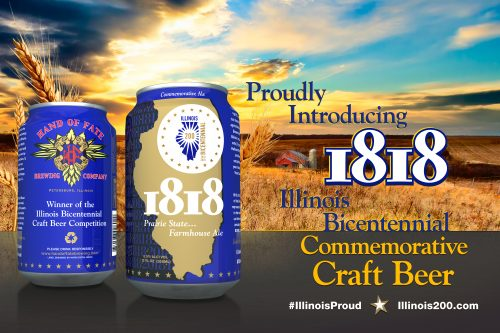 Illinois Bicentennial Beer Available In Cans
