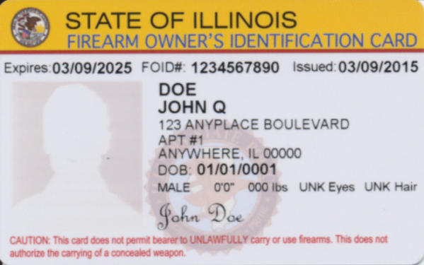 ISP Urges FOID Card Holders to Renew Early as June 1 Expiration Approaches