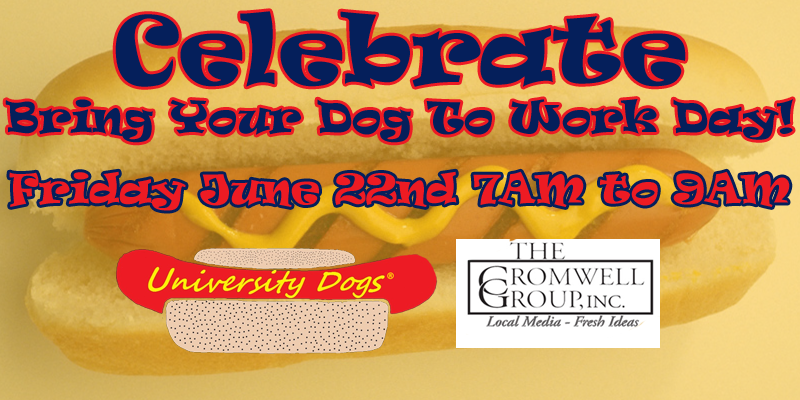 Feature: http://www.decaturradio.com/bring-your-dog-to-work-day-2/