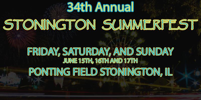 Feature: http://www.decaturradio.com/stonington-summerfest/