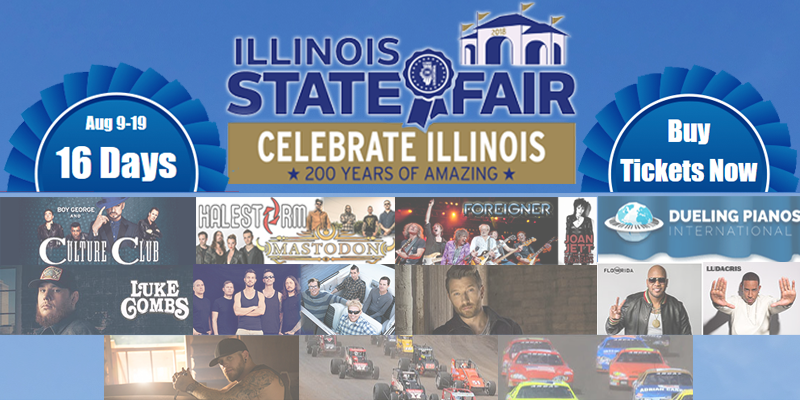 Feature: http://www.decaturradio.com/2018-illinois-state-fair-grandstand-line-up/