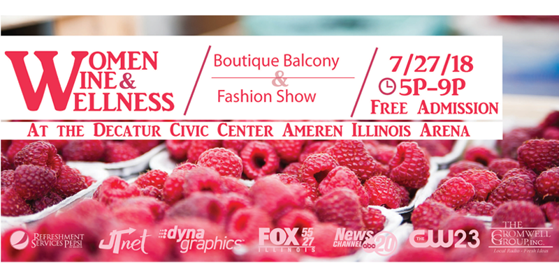 Feature: http://www.decaturciviccenter.org/events/359/19th-annual-women-wine-and-wellness