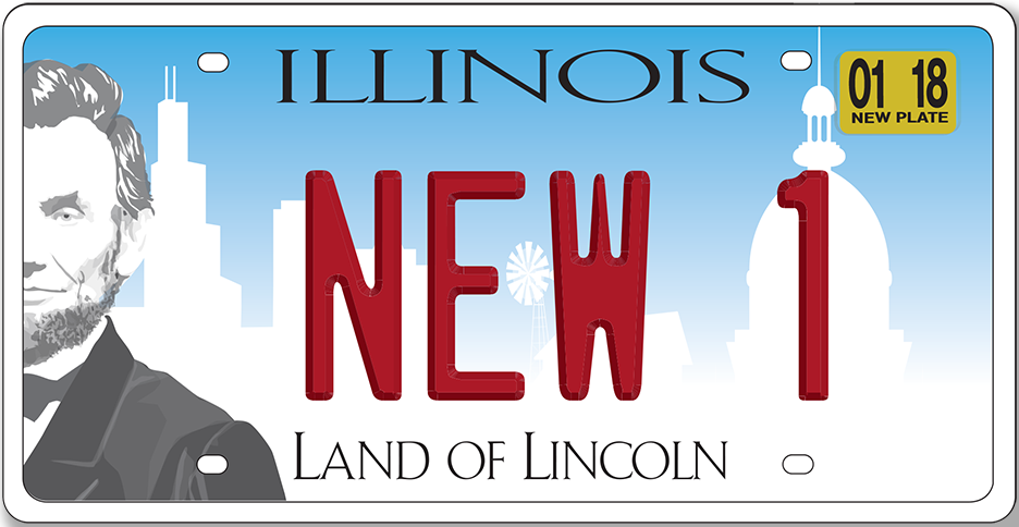 New Law Could Mean Two Year License Plates In Illinois