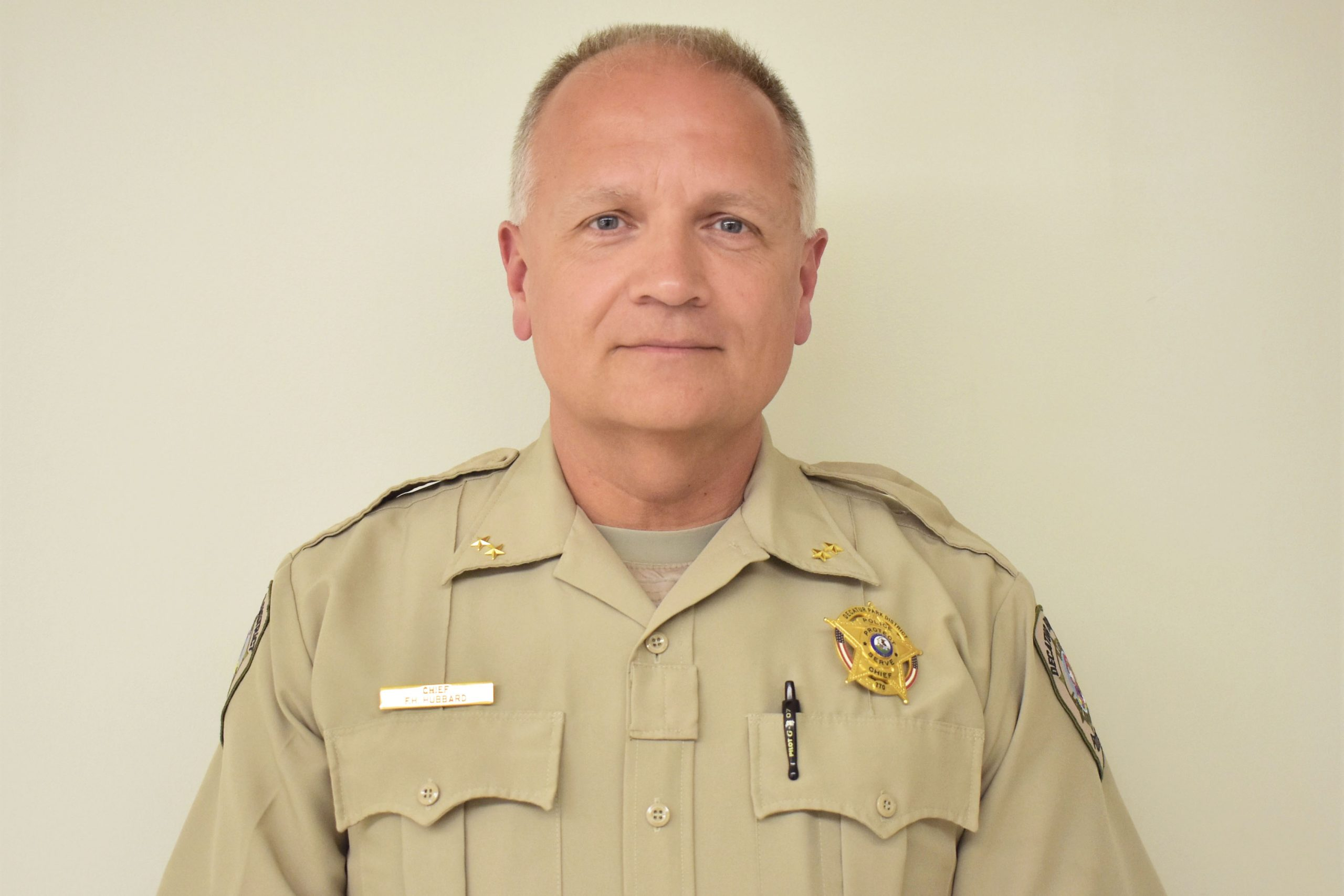 Frank Hubbard Named New Park Police Chief