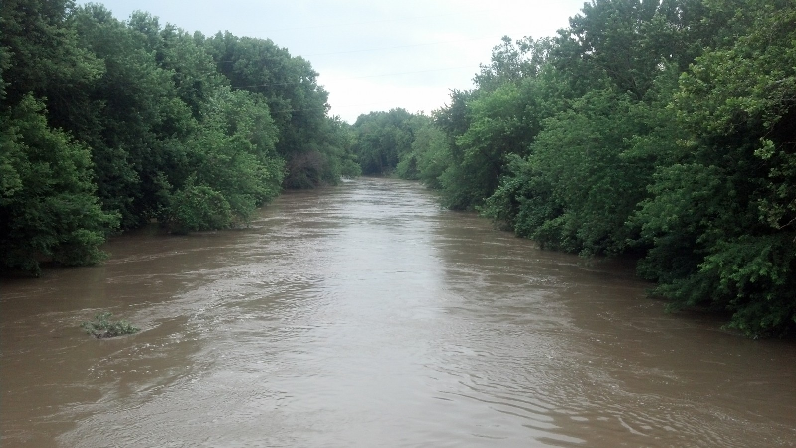 After reaching new high for the year, Kaskaskia River in Vandalia now dropping