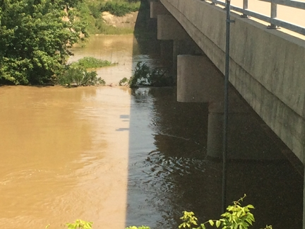 Head of Levee district says we are holding up after huge weekend rain