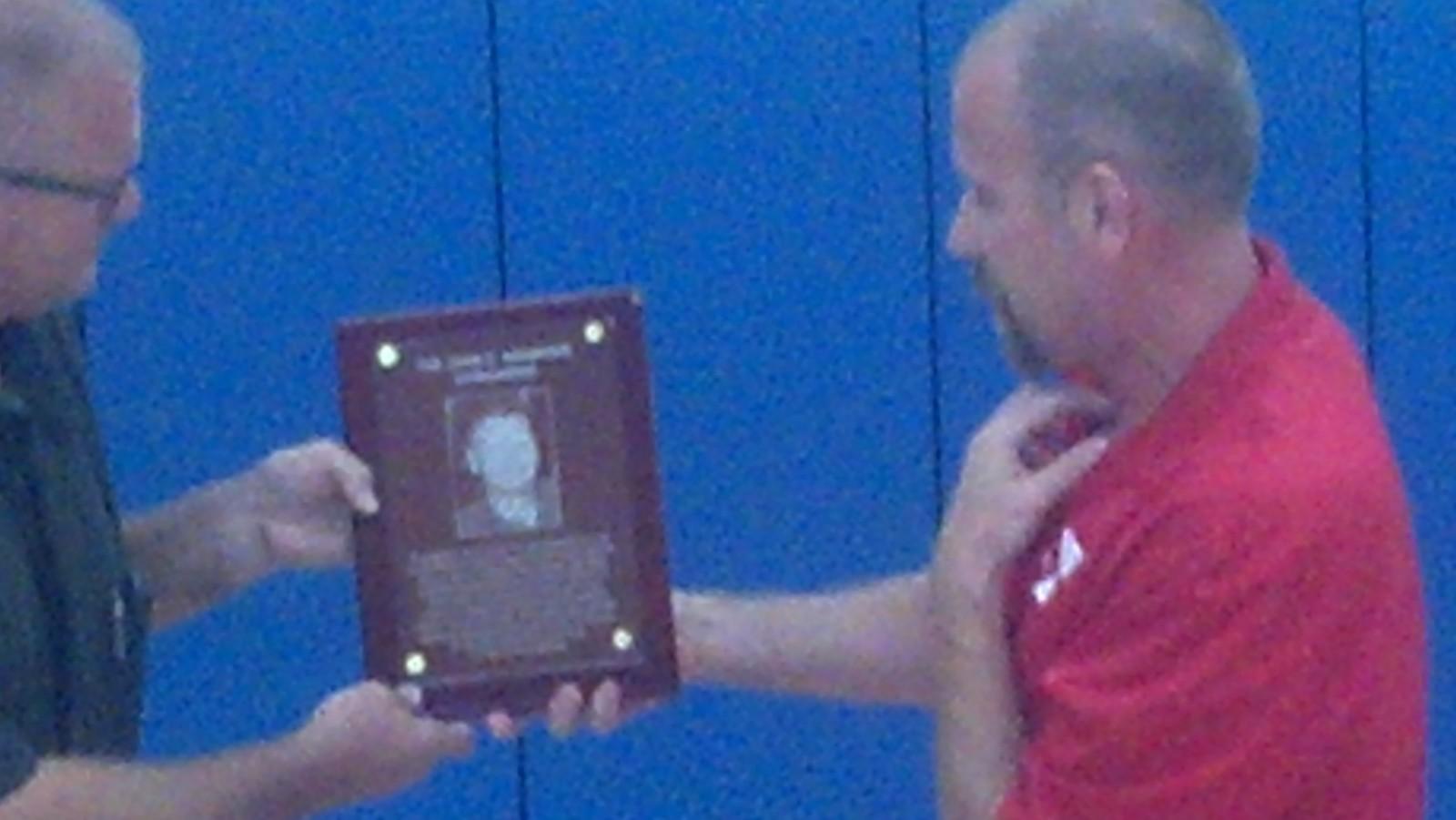 Ashdown honored as he leaves YMCA