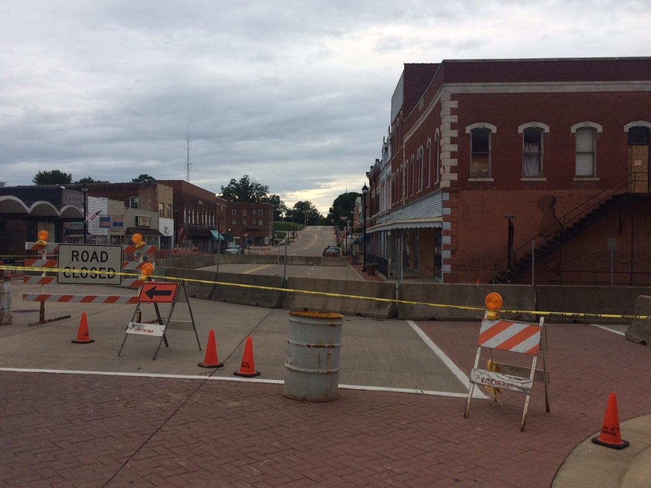 Demolition work begins on downtown buildings